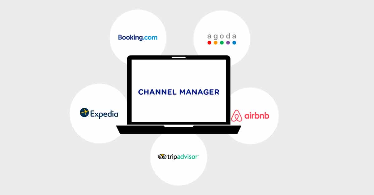 Channel Manager connects all the hotel's OTAs.s