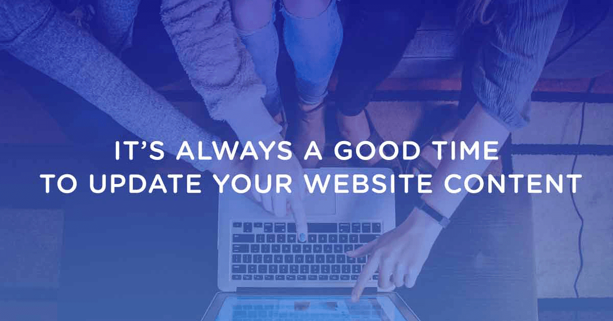 It's Time To Update Your Website