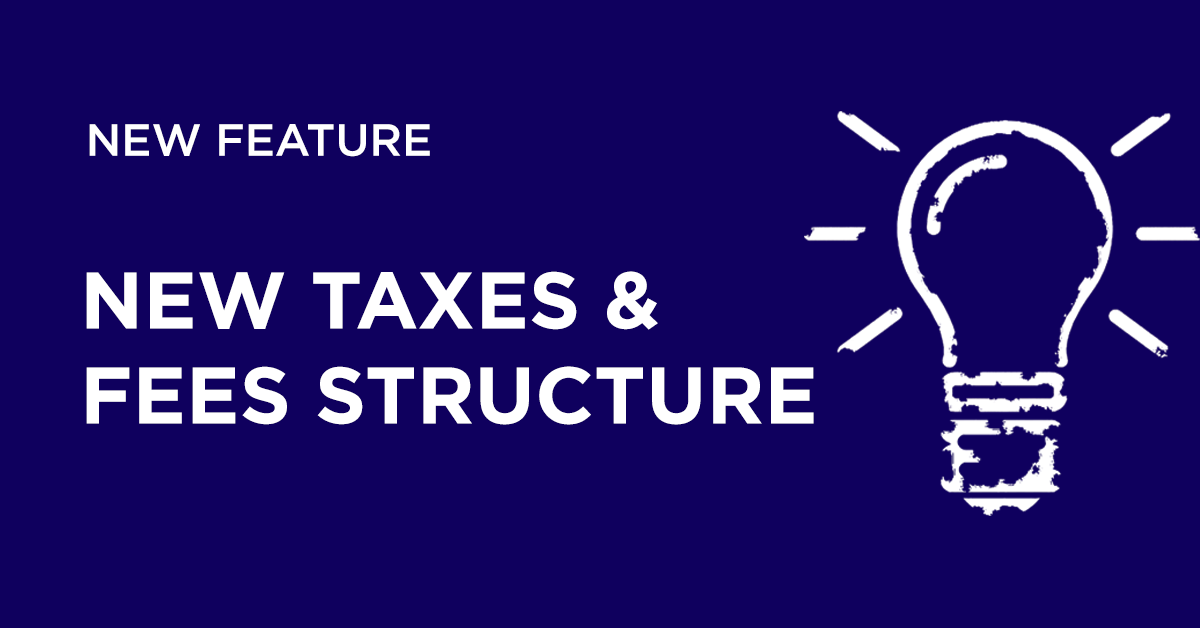 New Taxes And Fees Structure | Hotel Link System