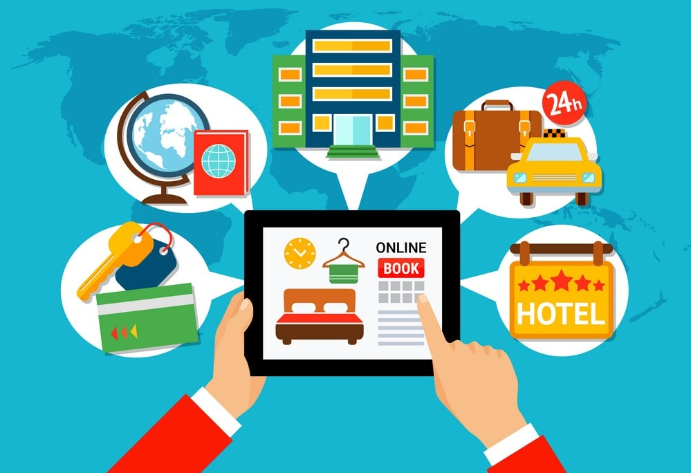 Applying appropriate online channels for selling rooms