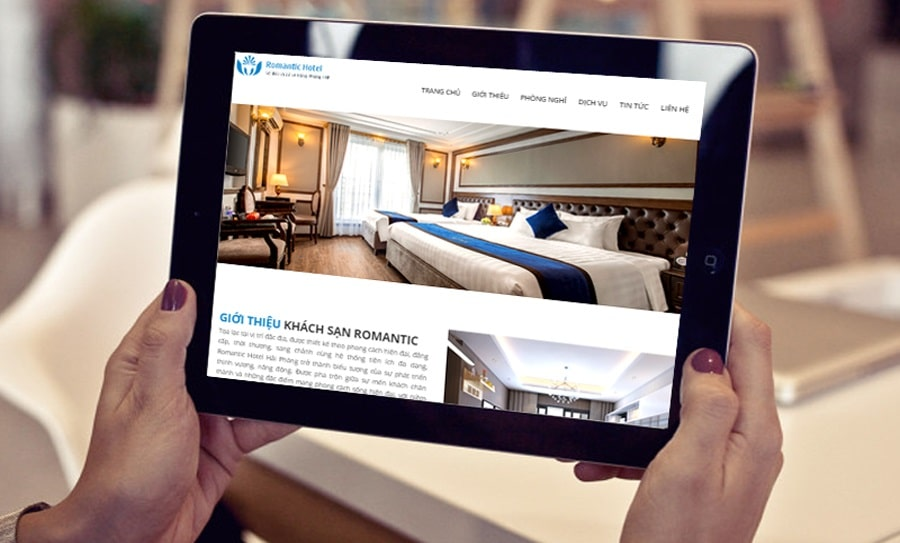 A hotel website should be fully functional