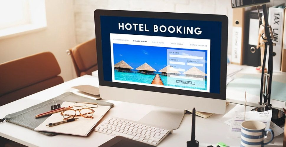 Booking room through booking sites